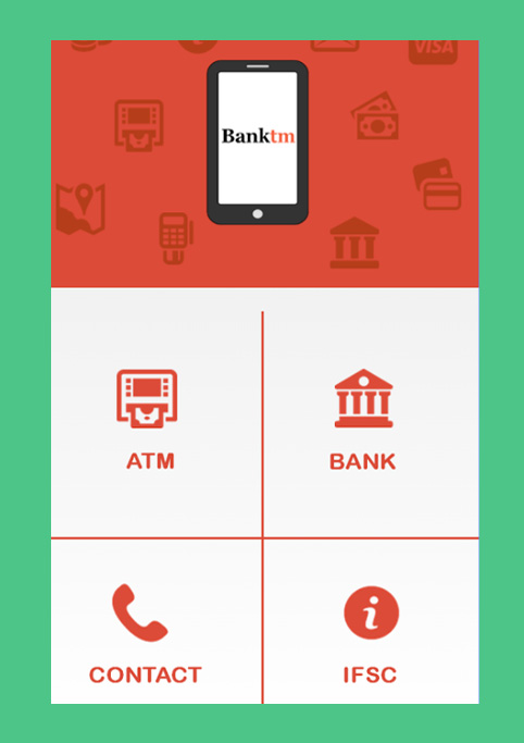 iphone application bankatm