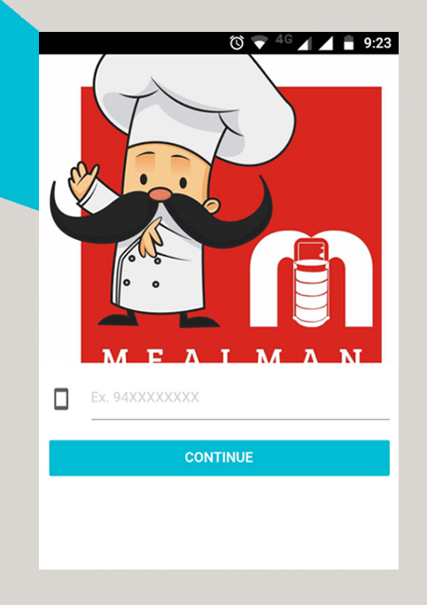 android application mealman