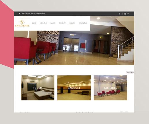 wordpress development hotelswiss